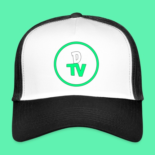 DTV Logo new - Trucker Cap