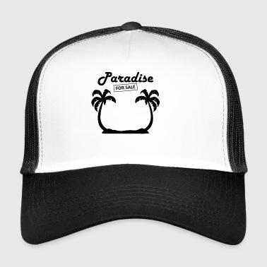 paradise4sale blak - Trucker Cap