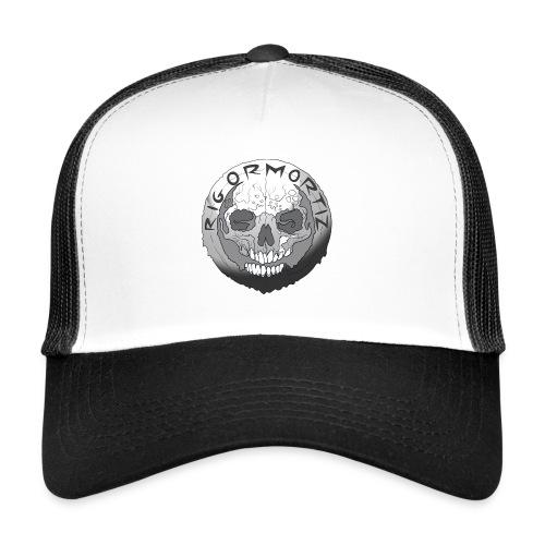 Rigormortiz Black and White Design - Trucker Cap
