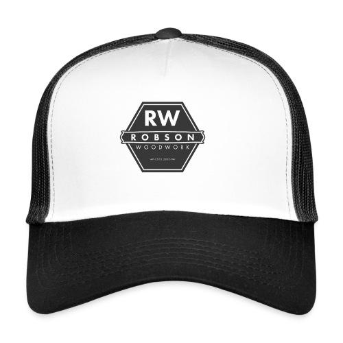 RW logo flat transparent original - Trucker Cap