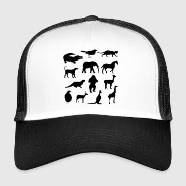 Different animals :) - Trucker Cap