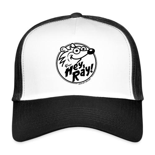 Hey Ray Logo black - Trucker Cap
