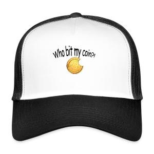 Bitcoin bite - Trucker Cap
