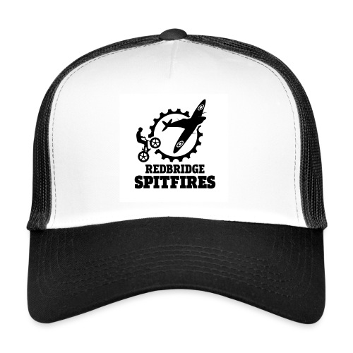 Redbridge Spitfires Logo White - Trucker Cap