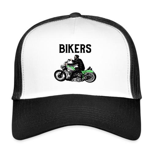 Green bikers - Trucker Cap