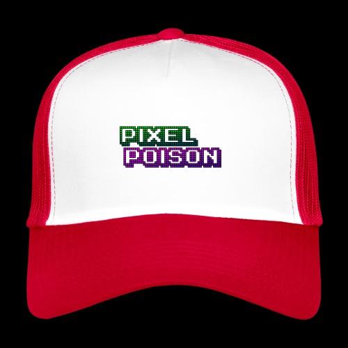 Pixel Poison Logo - Trucker Cap