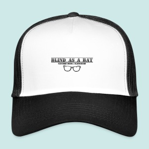Blind as a Bat - Black - Trucker Cap