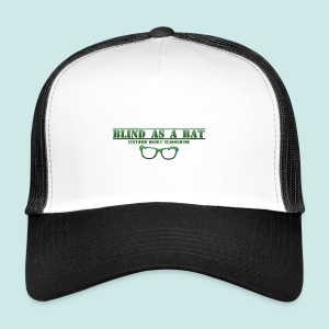 Blind as a Bat - Green - Trucker Cap