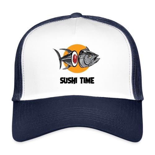 SUSHI TIME-tonno-n - Trucker Cap