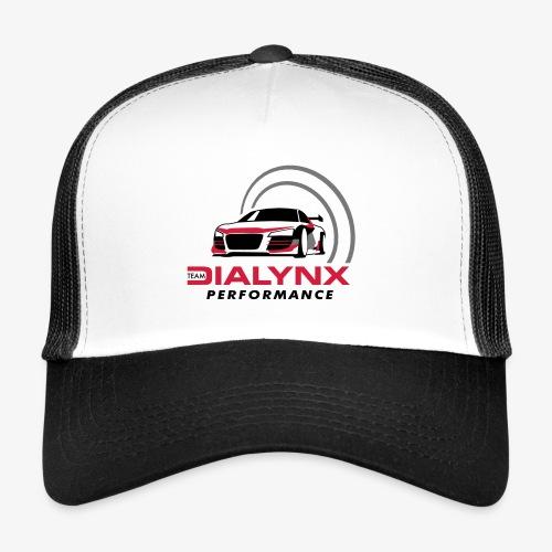 Dialynx Performance Race Team White Range - Trucker Cap