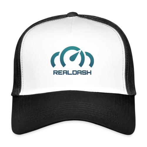 RealDash logo color - Trucker Cap
