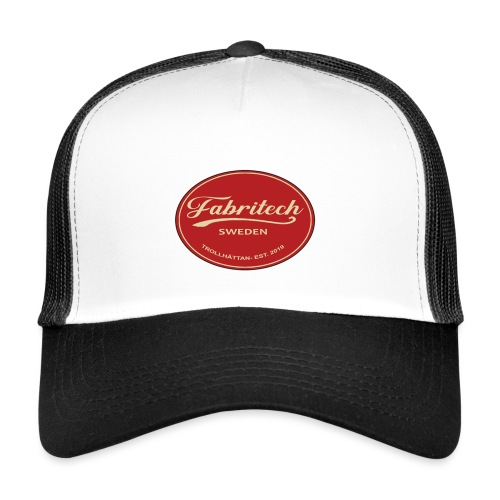 Fabritech single logo - Trucker Cap