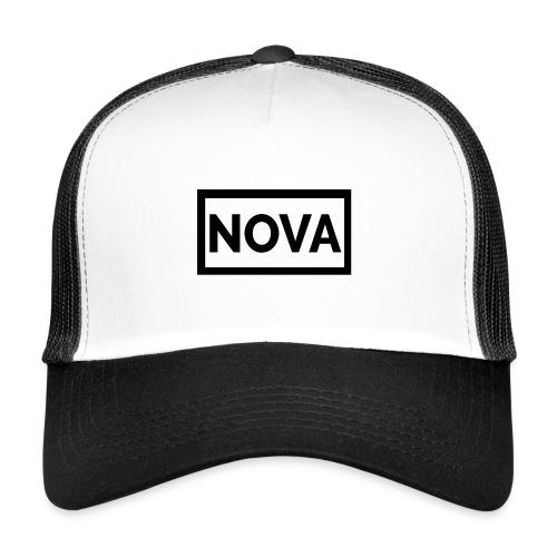 Red Nova Snapback - Trucker Cap