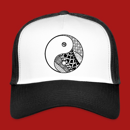 Decorative-Yin-Yang - Trucker Cap
