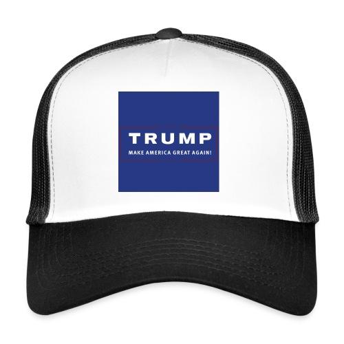 Donald Trump - solidair met de USA - Trucker Cap