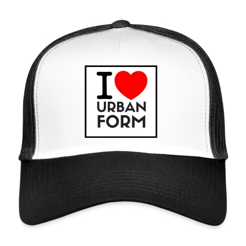 I LOVE URBAN FORM - Trucker Cap