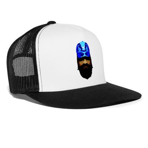 T-shirt gorra dadhat y boso estilo fresco - Gorra de camionero