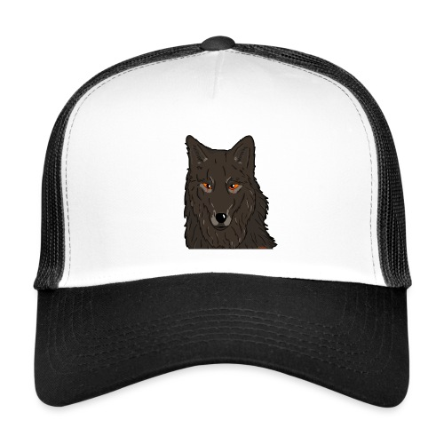 HikingMantis Wolf png - Trucker Cap