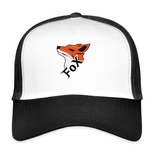 FoX Black&White Edition - Trucker Cap