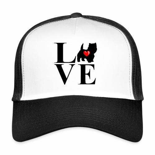 westie love design - Trucker Cap