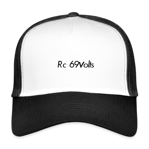 Logotypes rc69volts club de modelisme rc Français. - Trucker Cap