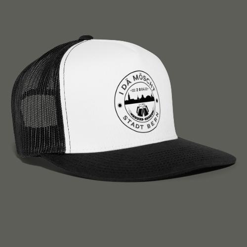 Logo schwarzweiss - Trucker Cap