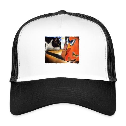 Il gatto di Dalí - Trucker Cap