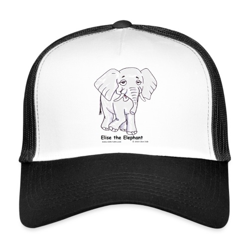 Elise the Elephant Named - Trucker Cap