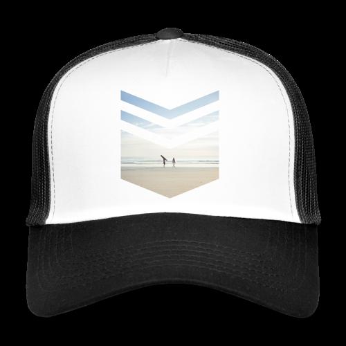 Surf Beach Triangle - Trucker Cap