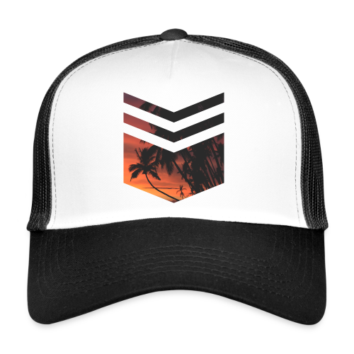 Palm Beach Triangle - Trucker Cap