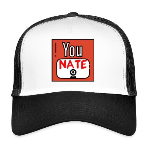 Nate's Youtube Logo - Trucker Cap