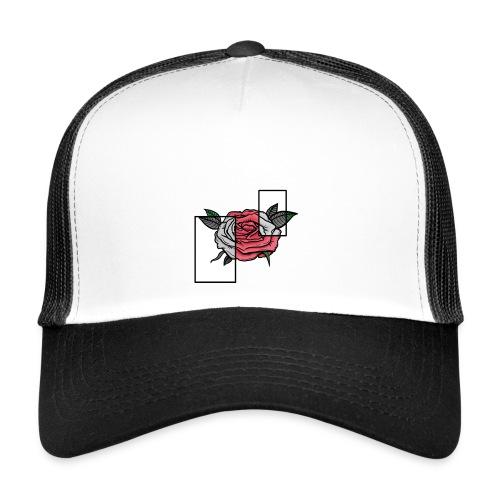 Flower - ROSE/GREY - Trucker Cap
