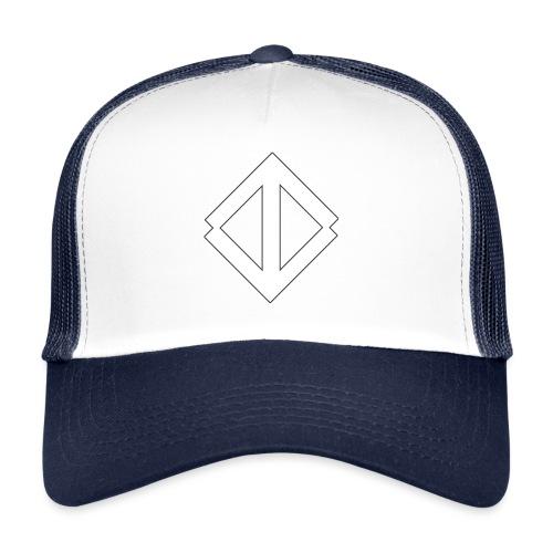 Big White Logo - Trucker Cap