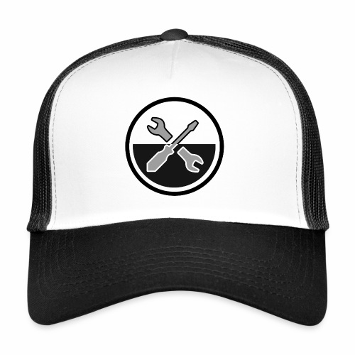 noir & gris - Trucker Cap