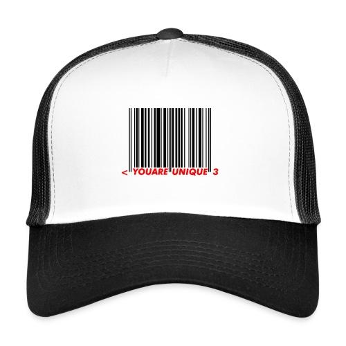 Codebar : You are unique - Trucker Cap