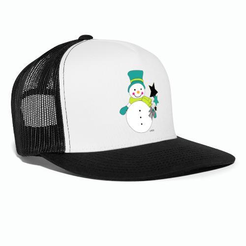 Snowtime-Green - Trucker Cap