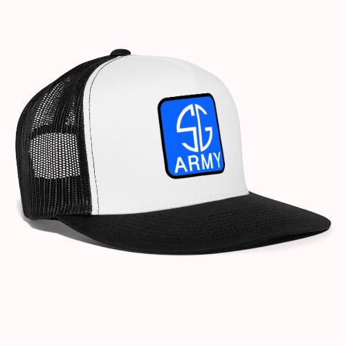 SemGamerArmy logo in box - Trucker Cap