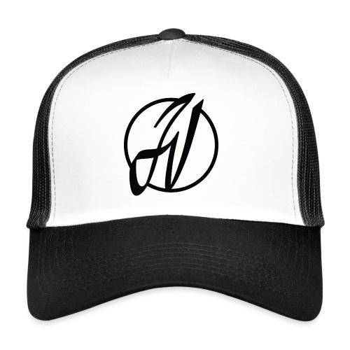 JV Guitars - logo noir - Trucker Cap