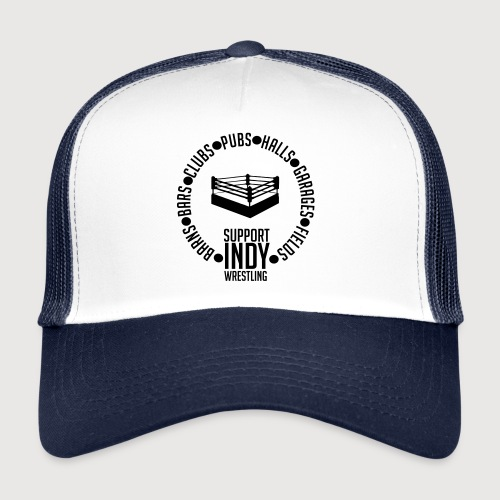 Support Indy Wrestling Anywhere - Trucker Cap