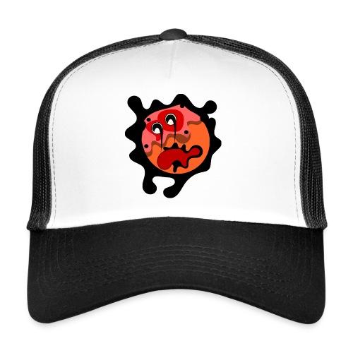 scary cartoon - Trucker Cap