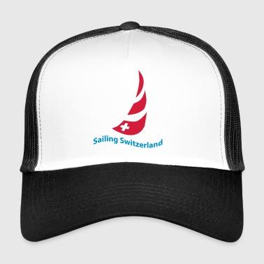 voile logo suisse - Trucker Cap