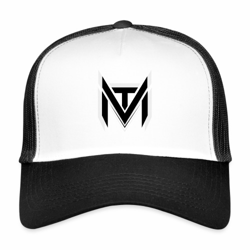 MadVexTV Logo Schwarz - Trucker Cap