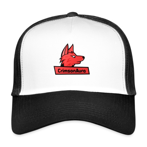 CrimsonAura Logo Merchandise - Trucker Cap