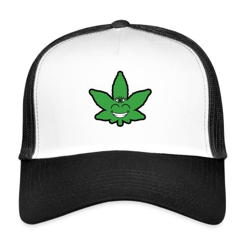 Weed Leave Eye - Trucker Cap