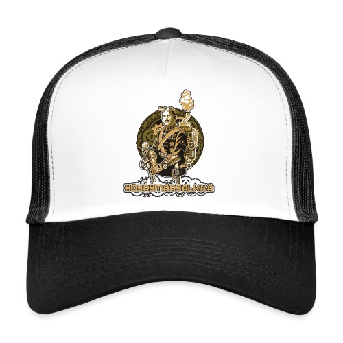 Höyrymarsalkan upea naisten T-paita - Trucker Cap