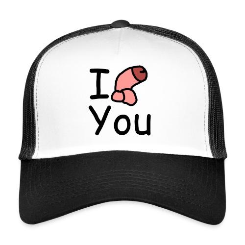 I dong you pillow - Trucker Cap