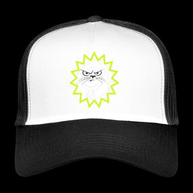 gato malvado - Gorra de camionero
