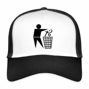 Religie do kosza - Trucker Cap