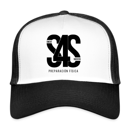 Logo Iniciales Sweat4Success - Gorra de camionero