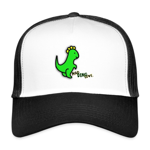 Jerry Mad Dino Love png - Trucker Cap